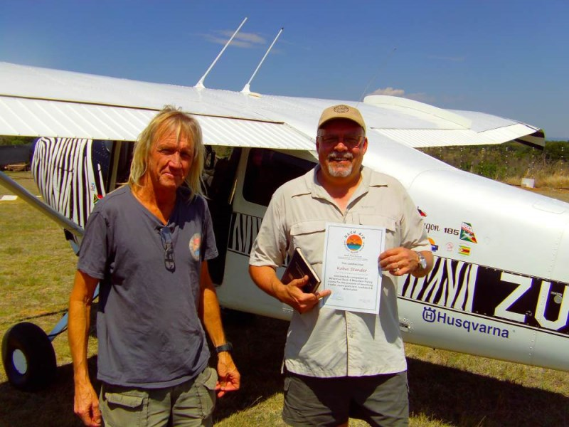 Bush Air - Advanced bush flying course. CC Pocock and Kobus Stander. Cessna C185