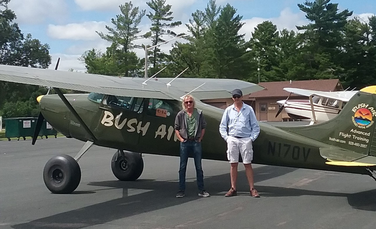 Bush Air - Advanced bush and mountain flying course. CC Pocock and Peter Sheppard