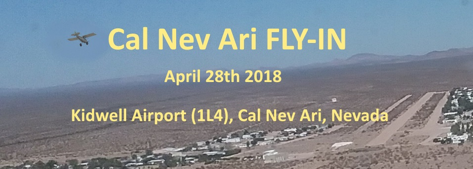 Cal Nev Ari Fly-In. Kidwell airport, Nevada, USA