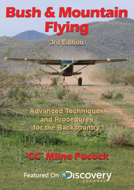 CC Pocock's new Bush  and Mountain Flying book