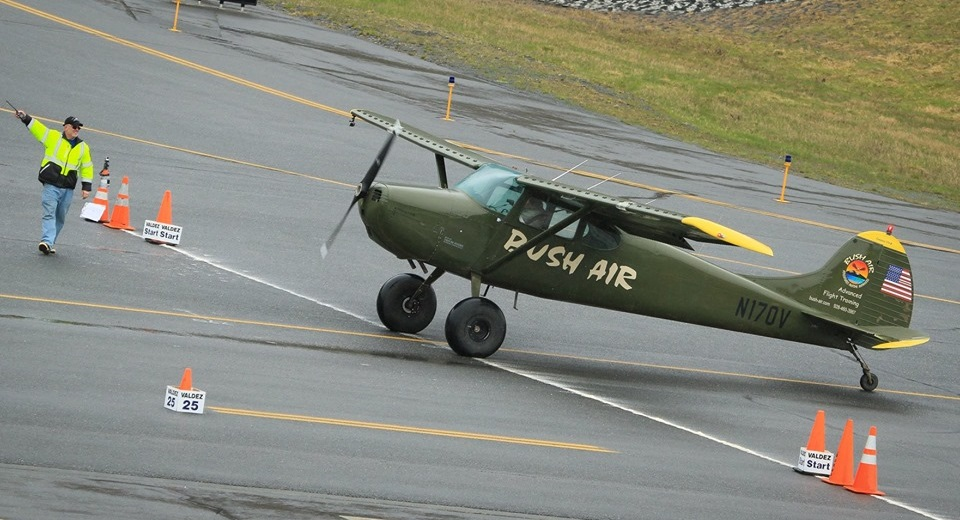 Valdez STOL 19. Bush Air C170 at the start line.